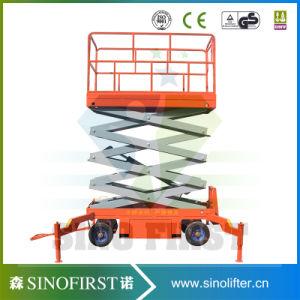 6m-12m Mobile Semi Electric Mobile Platform Scissor Lift pictures & photos