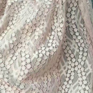 Top Quality Lace Fabric (with OEKO-TEX standard 100 certification AW1525) pictures & photos