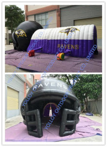 Inflatable Combo Helmet Sports Tunnel Tent pictures & photos