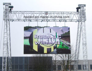 Advertising LED Screen Outdoor P5.95 with 500mm X 500m Cabinet