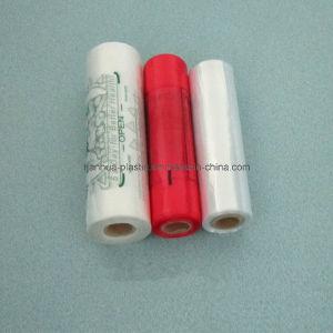 100% Virgin Material Printed Roll Flat Plastic Bag
