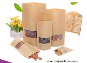 Food Grade Plastic Station Zipper Lock Pouch pictures & photos