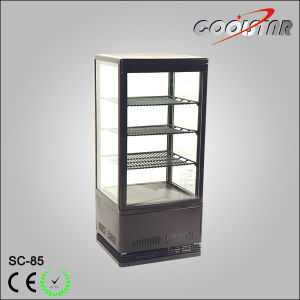 Ventilated Cooling Four Glass Refrigerator Showcase (SC-85) pictures & photos