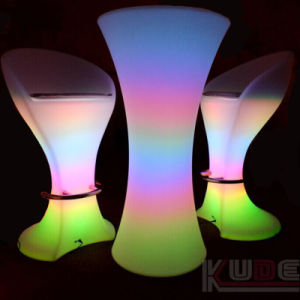 Rechargeable Battery LED Bar Table Chair pictures & photos