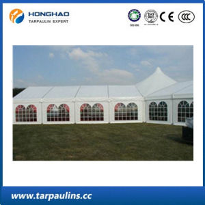White Color Anti-UV Awning Strength PVC Folding Tent pictures & photos