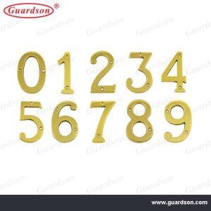 Brass House Number, Door Number (310200) pictures & photos
