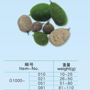 New Type Carp Fishing Stone Sinker pictures & photos