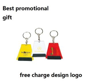 Promotion Ice Scraper with Keychain Design pictures & photos