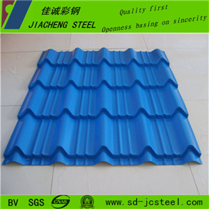 China Cheap Colored Corregated Sheet for Roof pictures & photos
