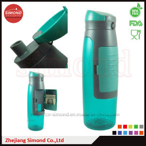 750 Ml Plastic Water Bottle with Storage Compartment pictures & photos