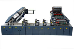 Hi - Tech High Speed Flexo Printing and Adhesive Binding Machine for Exercise Book pictures & photos