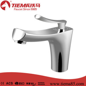 New Design Delicate Brass Chrome Basin Mixer (ZS60303) pictures & photos