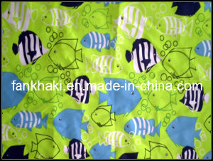 100% Polyester Plain Peach Fish Printing 210T 75D *150d Fabric (FKQ130704032)