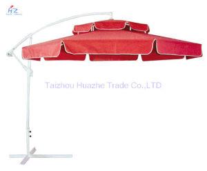10ft Round Double Roof Banana Umbrella Outdoor Umbrella Garden Umbrella Parasol pictures & photos