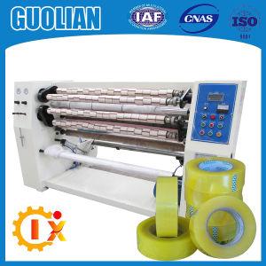 Gl-210 Adhesive Carton Transparent Tape Slitting Machine pictures & photos