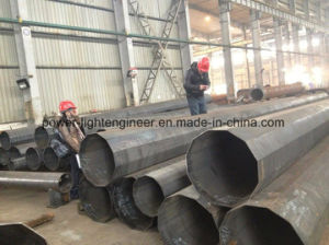 Steel Tapered Tubular Pole pictures & photos