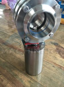 Tri-Clamp Connection Electric/Penumatic Butterfly Valve (ACE-DF-58) pictures & photos