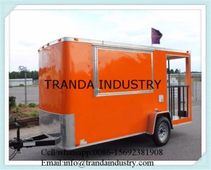 Under Bench Fridge Twin Deep Fryer Display Fridge Mobile Food Trailer pictures & photos