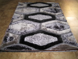 3D Green Polyester Carpets Floor Carpet Tile, pictures & photos