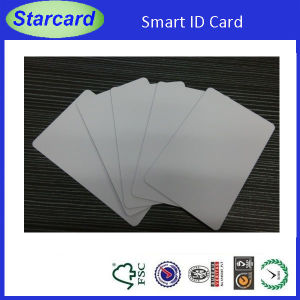 Low Cost Printable White Blank PVC Contact IC Card