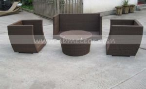 Wicker Outdoor Furniture Sofa Set PE Rattan Sofa (MTC-287) pictures & photos