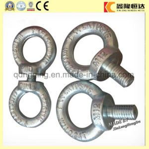 Galvanized Eye Bolt and Nut, Drop Forged. DIN580 pictures & photos
