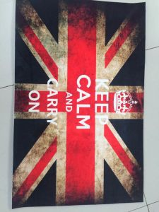 Printing Carpet Waterproof Bath Mat with Custom Design pictures & photos