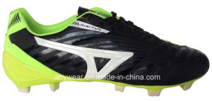 Men′s Soccer Football Boots with TPU Outsole Shoes (815-6461) pictures & photos