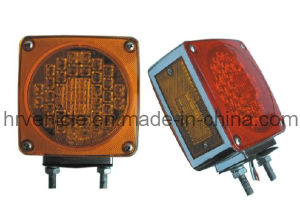 LED Double Face Signal with Reflector Lamp for Truck pictures & photos