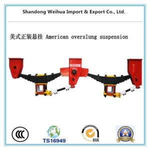 2 Axle American Type Semi Trailer Mechanical Suspension for Sale pictures & photos