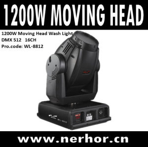 1200W Moving Head Wash Light (WL-8812)