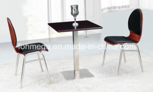 Stainless Steel New Square Dining Table Set (FOH-BC40) pictures & photos