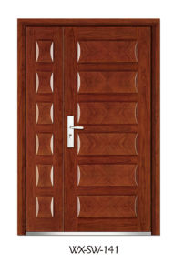 Steel Wooden Door (WX-SW-141) pictures & photos