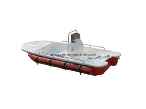 Aqualand 13feet 4m Fiberglass Motor Boat /Rib Fishing Boat (130) pictures & photos