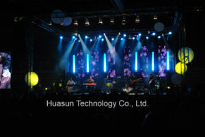 Mobile and Portable LED Stage Vision Clothing With Large Area