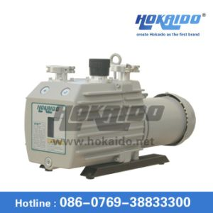 Double Stage Electric Pressure Air Rotary Vane Vacuum Oil Pump (2RH0048D) pictures & photos