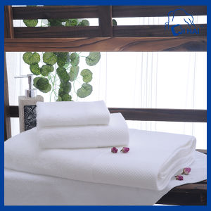 3PCS White Hotel Towel Sets (QAD5511)