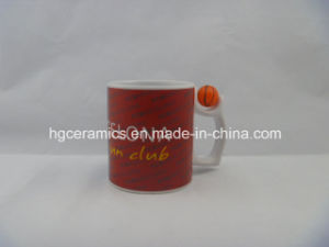 Sublimation White Mug with Earth Insert pictures & photos