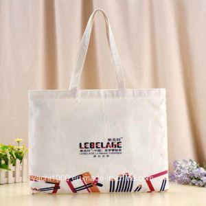 Custom Reusable Canvas Shopping Bag with Emoji pictures & photos