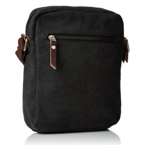 Leisure Canvas Shoulder Bags with PU Leather for Man pictures & photos