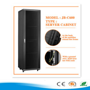 19 Inch Rack Network Server Cabinet Black/White/Grey Indoor Rack pictures & photos
