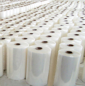 PE Shrink Wrap Film Rolls for Bottles pictures & photos