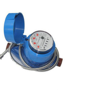 Pointer and Word-Wheel Combination Counting Drinkable Electronic Water Meter pictures & photos