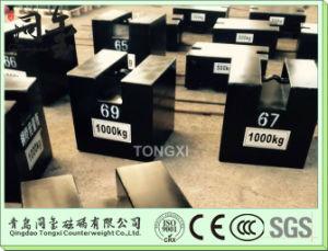 M1 OIML Standard 1000kg Test Masa Weights pictures & photos