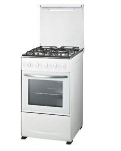 Full Glass Door with White Door Handle 20inch Freestanding Oven