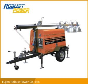 3 Cylinders Water Cooled Generator Light Tower pictures & photos