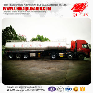 30000L Stainless Steel Mixing Milk Tank Trailer for Sale pictures & photos