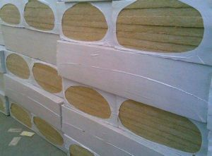 Rock Wool Fire Proof and Heat Insulation Rock Wool Board pictures & photos
