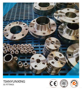 AISI Standard 304L Stainless Steel Forged Pipe Fittings Flange pictures & photos