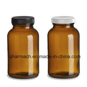 250ml Eco Amber Glass Boston Bottles for Tabelt, Pill pictures & photos
